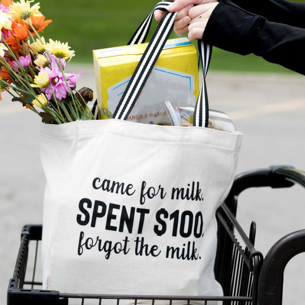 Came for Milk - 100% Cotton Twill Gift Bag