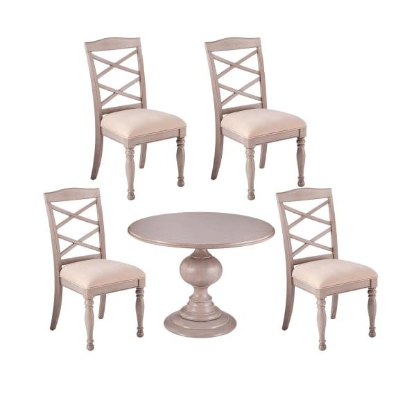 Antony Traditional 5pc Dining Set