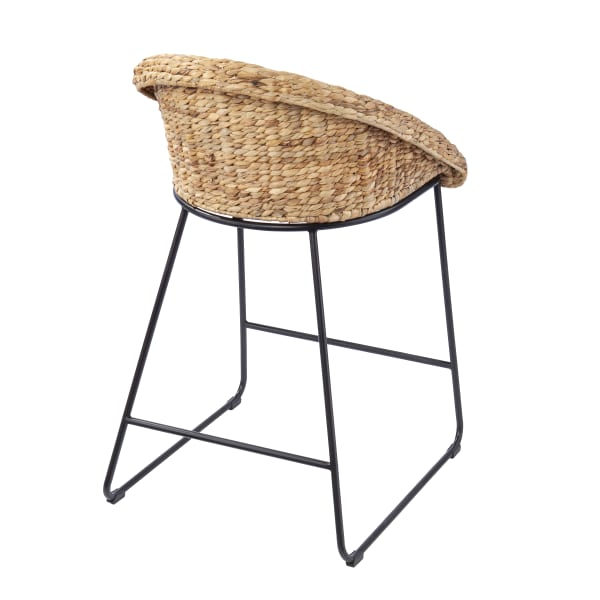 Acklin Water Hyacinth Counter Stools – 2pc Set