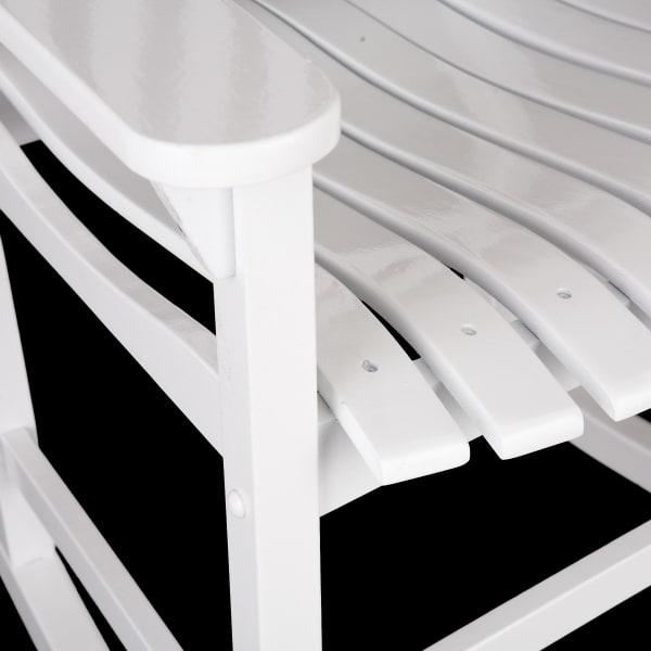 Fredrik Porch Rocker - White