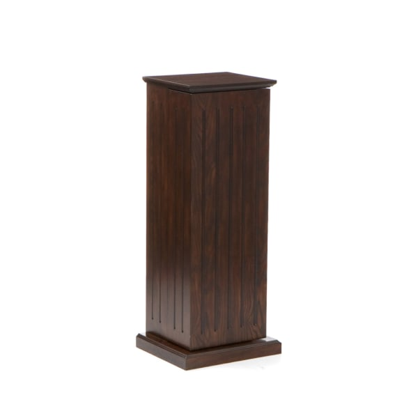 Aswell Media Storage Pedestal - Espresso