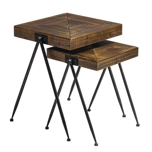Skyler Nesting Accent Table 2pc Set