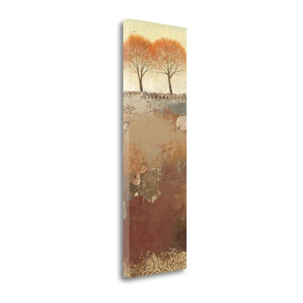 Field And Forest Panel III Wrapped Canvas Wall Art