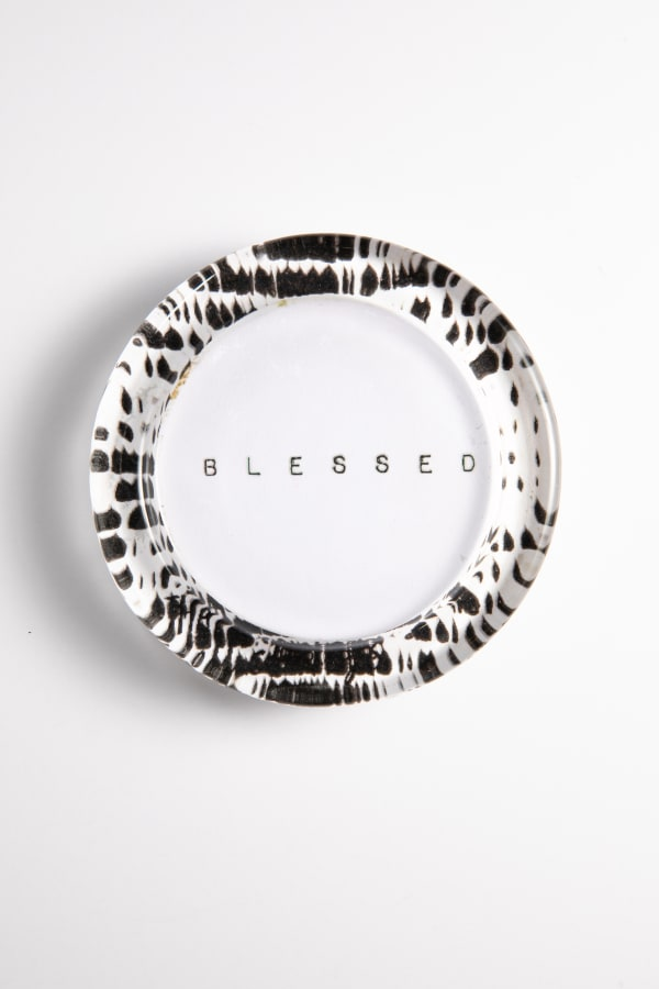 Blessed Recycled Glass Coaster