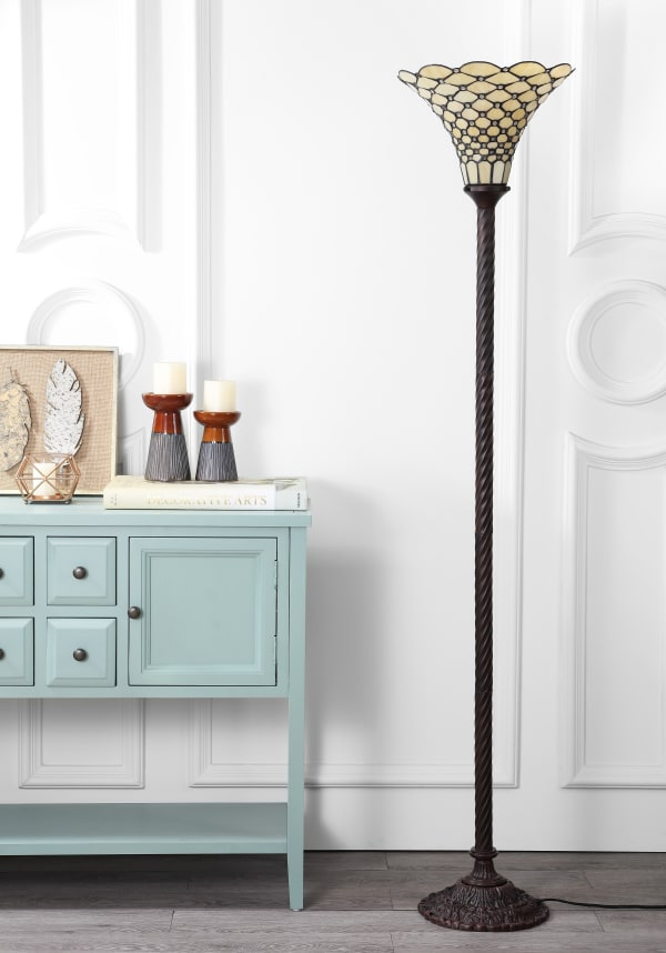 White Tiffany-Style 70