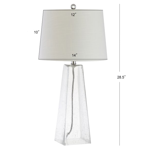 Glass LED Table Lamp, Clear