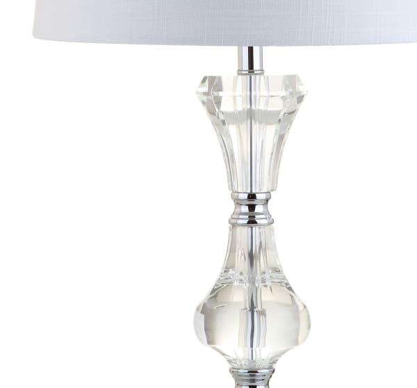 Crystal LED Table Lamp, Clear