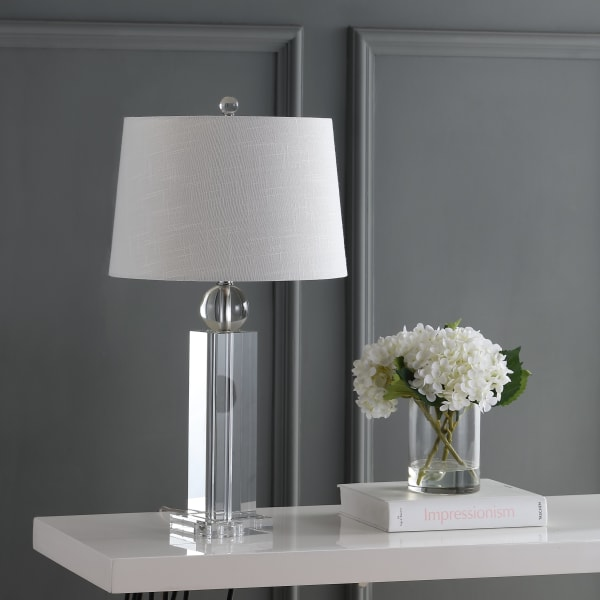 Crystal LED Table Lamp, Clear