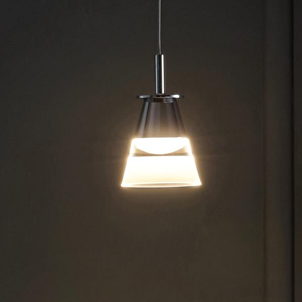 Light Adjustable Metal Integrated LED Pendant, Chrome
