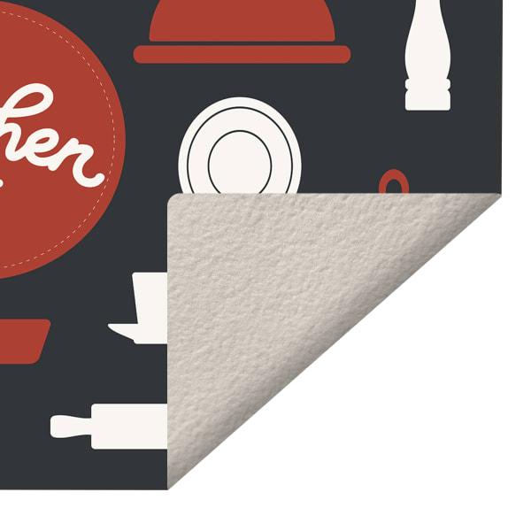 Kitchenware Indoor Vinyl 2' x 3' Floor Mat