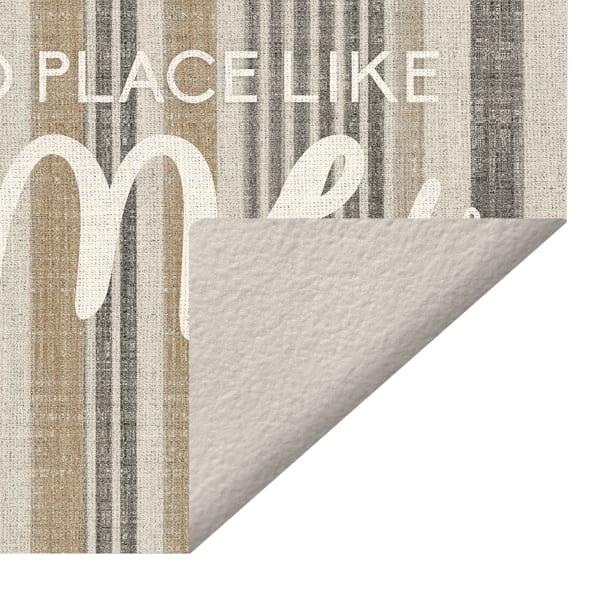 No Place Like Home Vinyl 2' x 5' Floor Mat