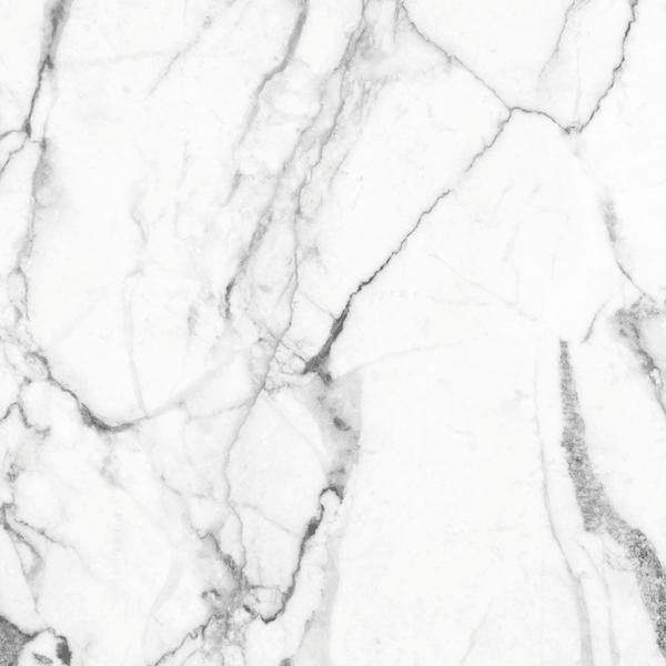 White Faux Marble Decorative Vinyl 4'5