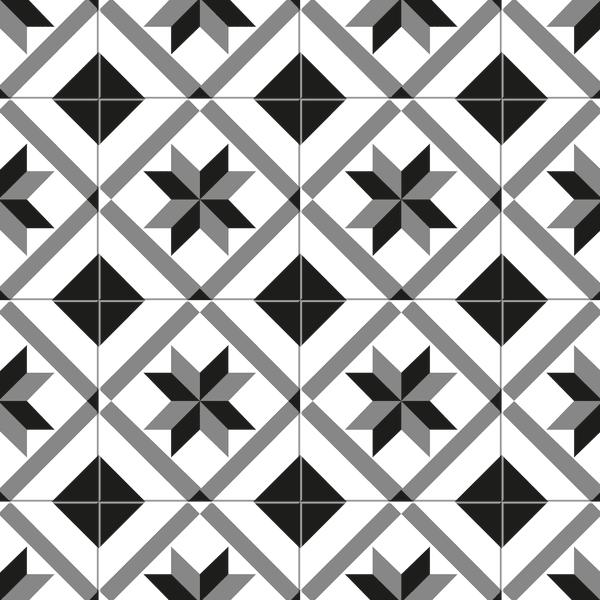 Mosaic Pattern Decorative Vinyl 4'5