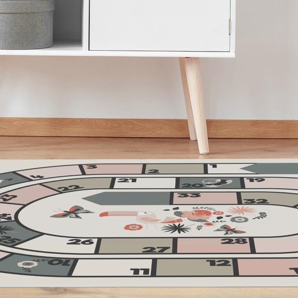 Flamingo Floor Game Vinyl 4'5