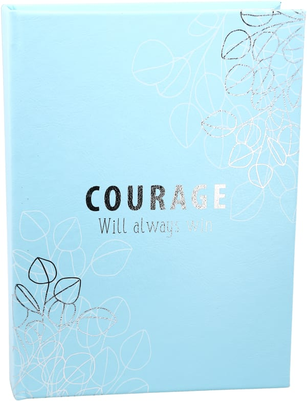 Courage Blue Inspiration Journal