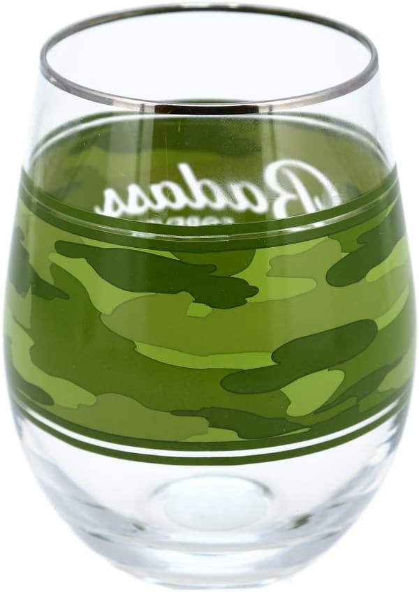 Bad A Stemless Wine Glass
