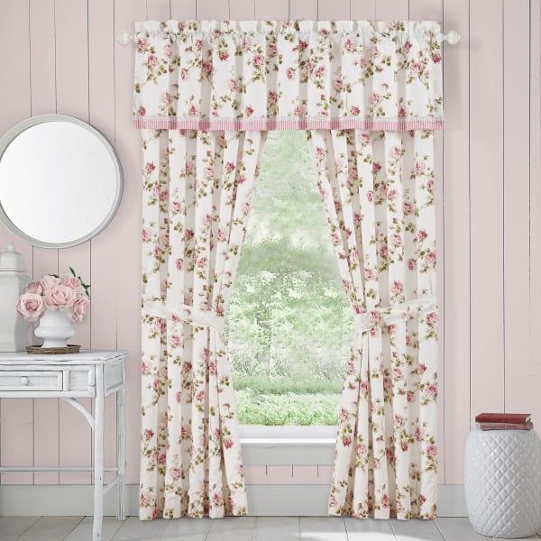 Rosemary Rose Window Straight Valance
