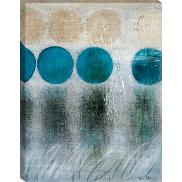Blue Moon II By Heather Mcalpine Wrapped Canvas Wall Art