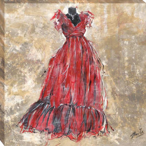 Gala II By Marta G. Wiley Wrapped Canvas Wall Art