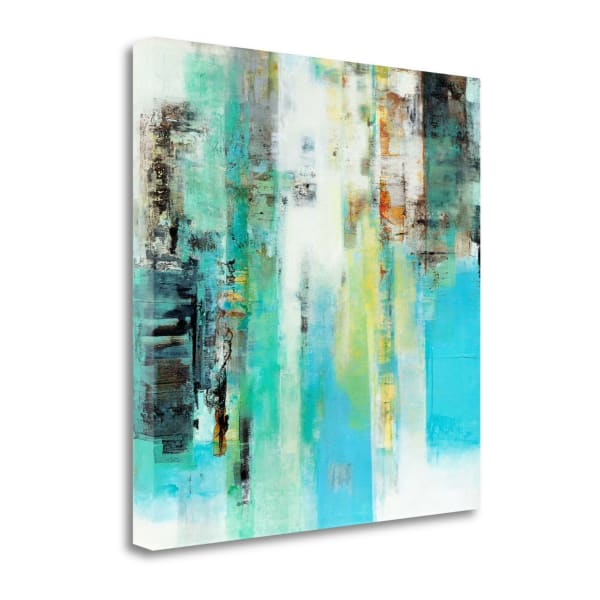 Serie Caminos #22 By Ines Benedicto Wrapped Canvas Wall Art