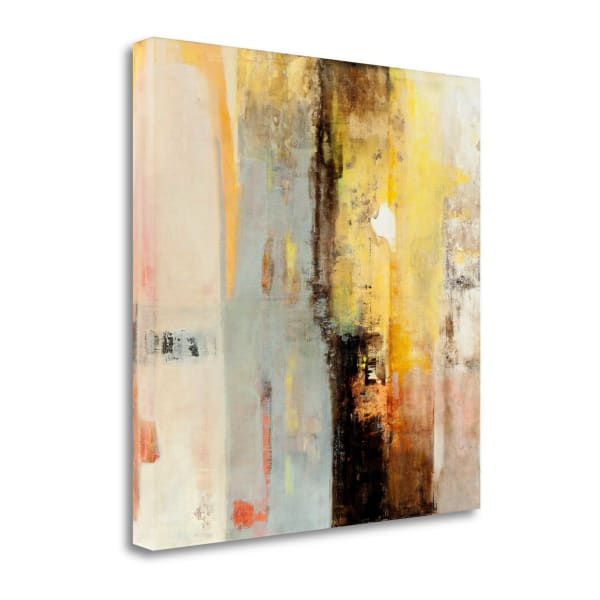 Serie Caminos #45 By Ines Benedicto Wrapped Canvas Wall Art