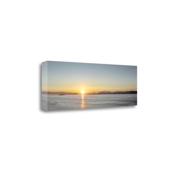 Sunrise VIsta On The Bay By Alan Blaustein Wrapped Canvas Wall Art