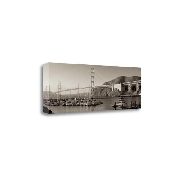 Golden Gate Bridge - 34 By Alan Blaustein Wrapped Canvas Wall Art