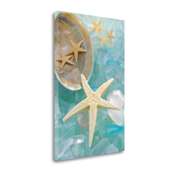 Crystal Harbor - 2 By Alan Blaustein Wrapped Canvas Wall Art