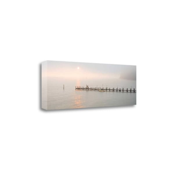 Antique Pier - 38 By Alan Blaustein Wrapped Canvas Wall Art