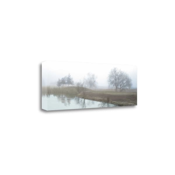 Lakeside Trail By Alan Blaustein Wrapped Canvas Wall Art