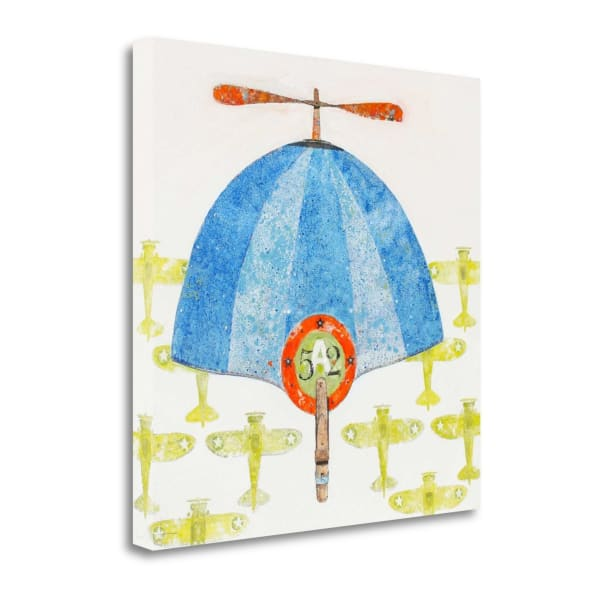Cap No. 52 By Anthony Grant Wrapped Canvas Wall Art