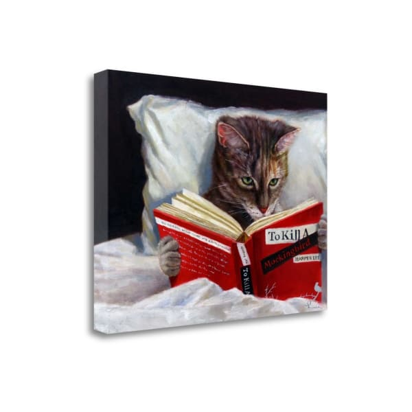 Late Night Thriller By Lucia Heffernan Wrapped Canvas Wall Art