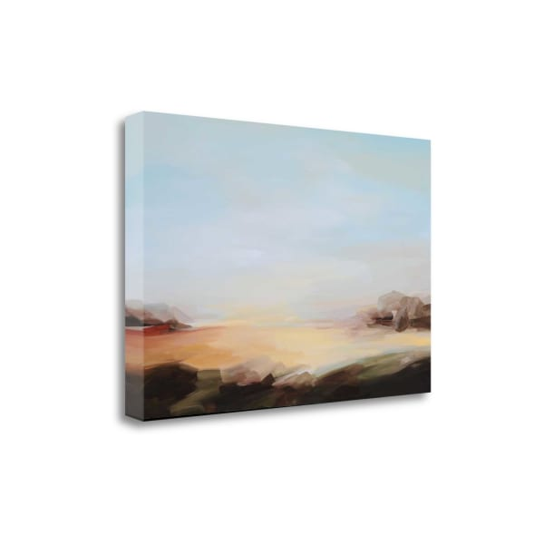 Three Oceans By Sarah Davies Wrapped Canvas Wall Art