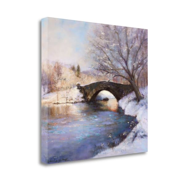 Central Park Bridge By Esther Engelman Wrapped Canvas Wall Art