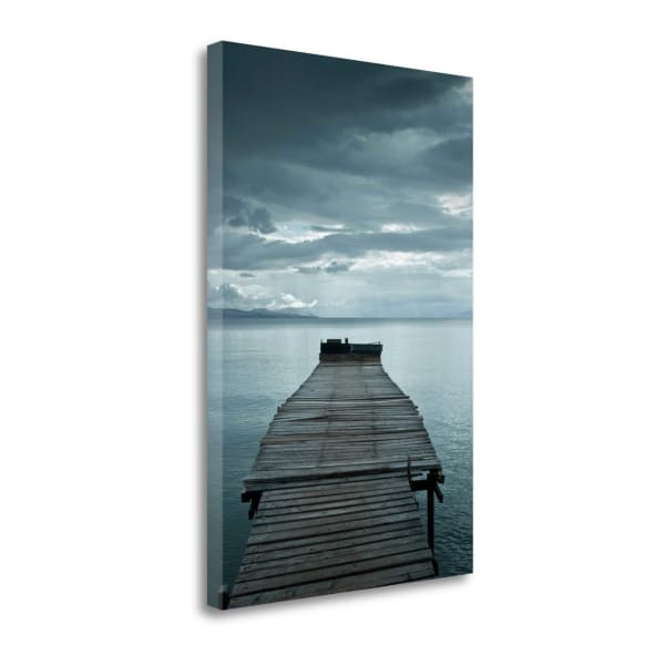 Pier 2 By Photoinc Studio Wrapped Canvas Wall Art