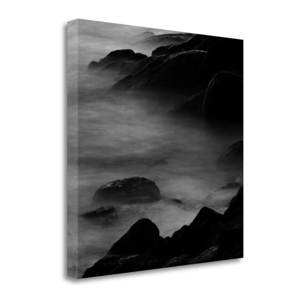 Rocks In Mist 2 By Photoinc Studio Wrapped Canvas Wall Art
