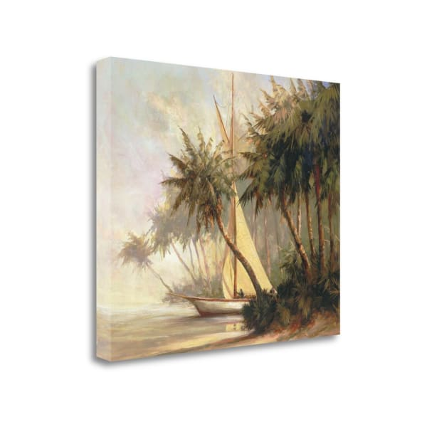 Leaving Out By Malarz  Wrapped Canvas Wall Art