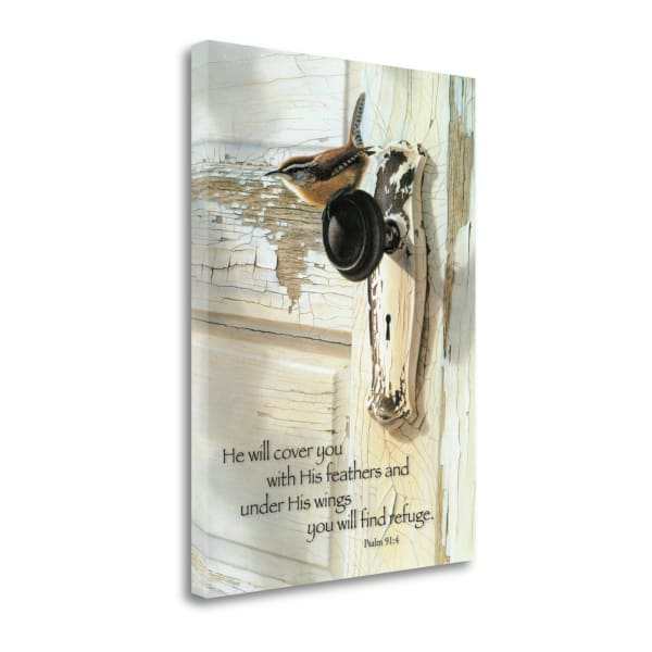 He Will By Bob Henley Wrapped Canvas Wall Art