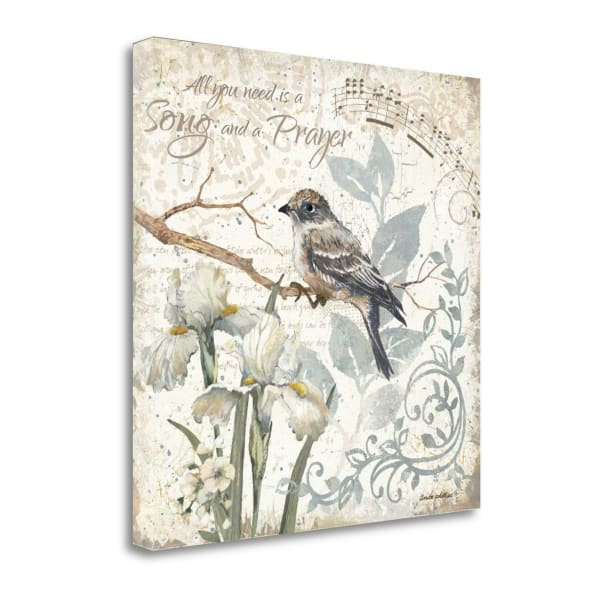 A Song And A Prayer By Anita Phillips Wrapped Canvas Wall Art
