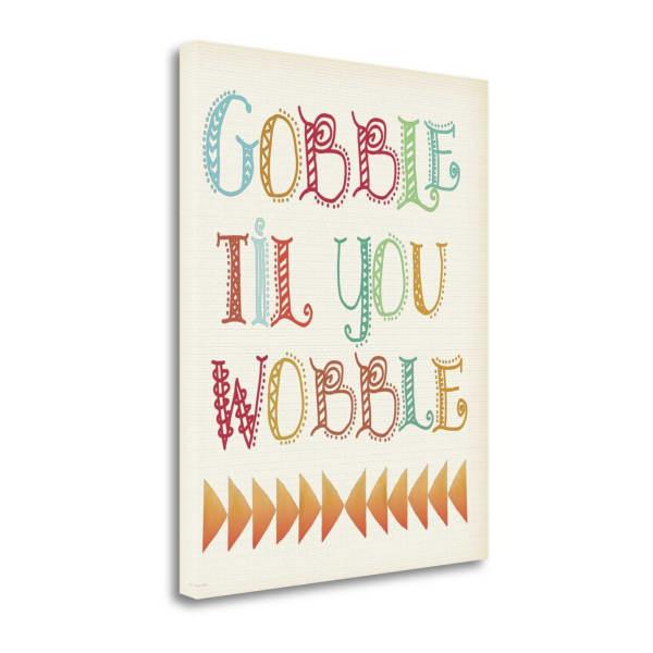 Gobble By Jo Moulton Wrapped Canvas Wall Art