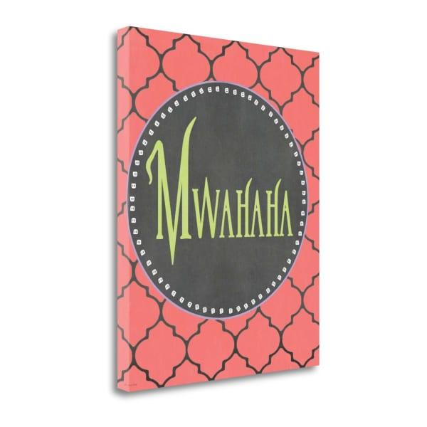 Mwahaha By Jo Moulton Wrapped Canvas Wall Art