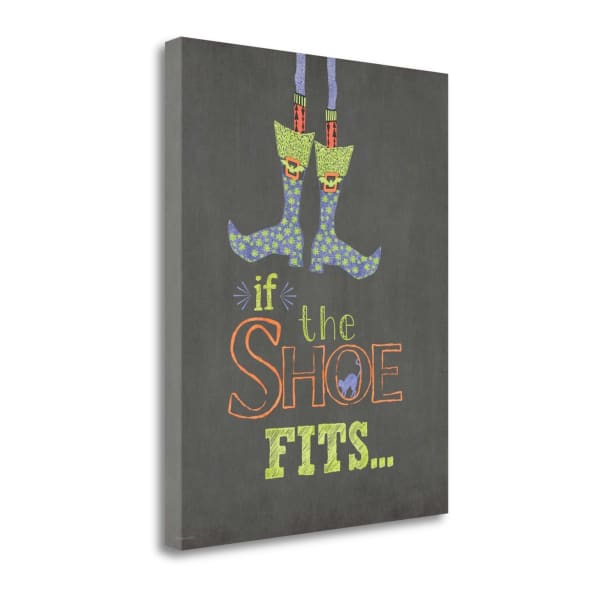 If The Shoe Fits By Jo Moulton Wrapped Canvas Wall Art