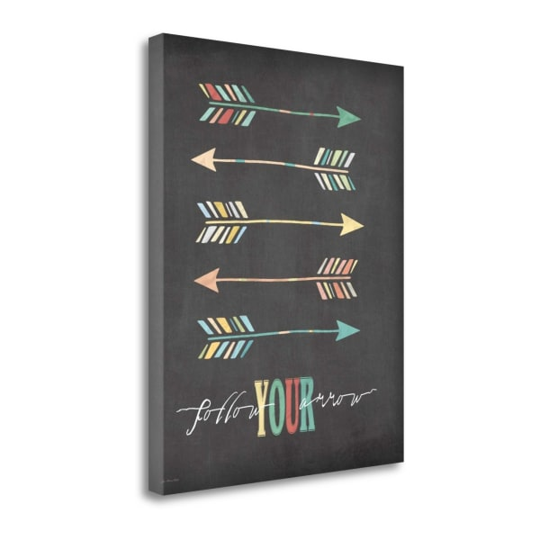 Follow Your Arrow By Jo Moulton Wrapped Canvas Wall Art