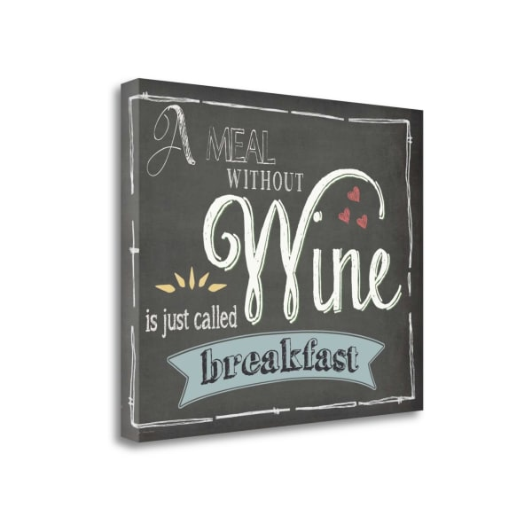 Wine By Jo Moulton Wrapped Canvas Wall Art