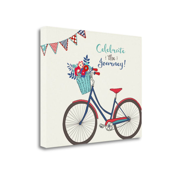 Simply Celebrate Life By Jo Moulton Wrapped Canvas Wall Art