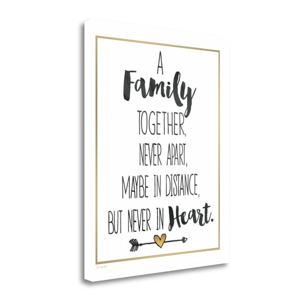 Family Together By Jo Moulton Wrapped Canvas Wall Art