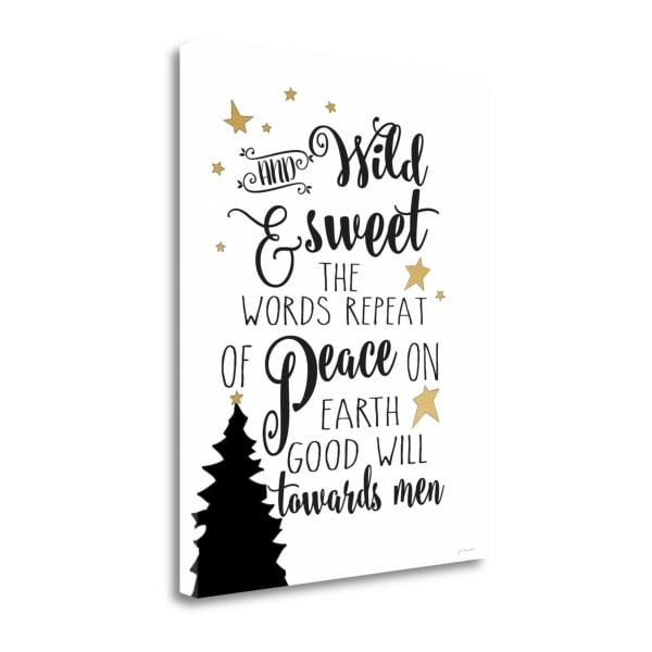 Wild and Sweet By Jo Moulton Wrapped Canvas Wall Art