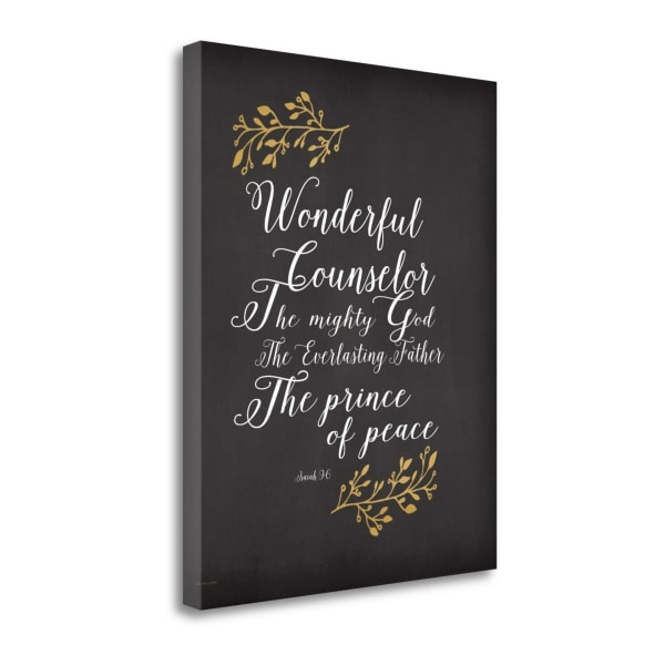 He Will Be Called By Jo Moulton Wrapped Canvas Wall Art