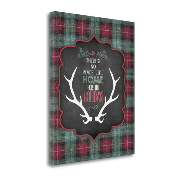 Home For The Holidays By Jo Moulton Wrapped Canvas Wall Art