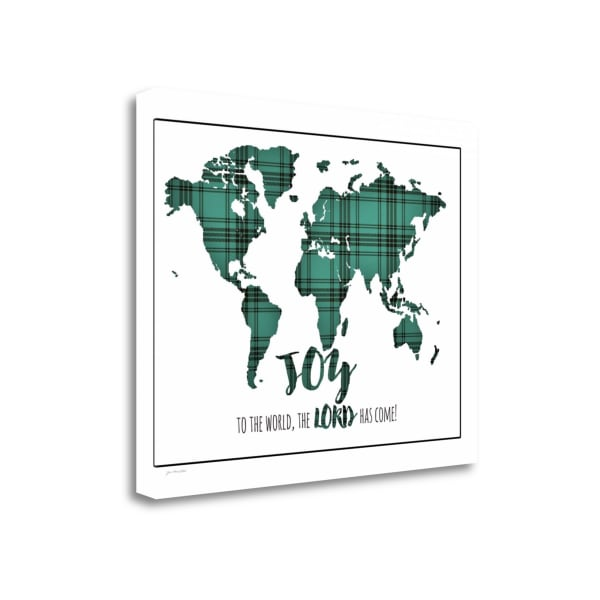Joy To The World By Jo Moulton Wrapped Canvas Wall Art